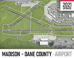 3D model Madison Dane County Airport