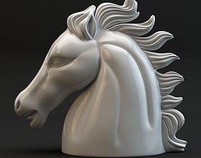 3D model Chess Knight sculpture