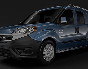 Ram ProMaster City Wagon 2020 3D model