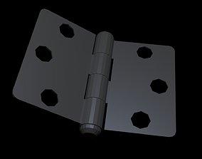 Low poly Hinge 2 3D asset