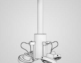 Halogen Lamp Set 3D model