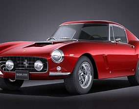 3D Ferrari 250 GT SWB Berlinetta 1953-1964
