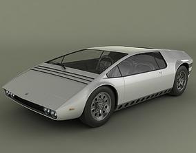 3D model Bizzarini Manta Concept