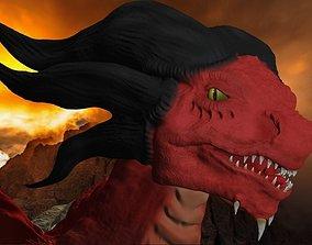 3D model Ruby dragon