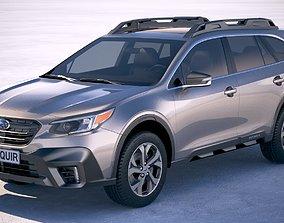 Subaru Outback 2020 3D model