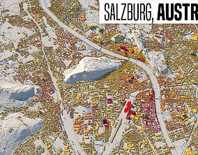 Citymap Salzburg country 3D model