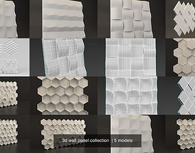 3d wall panel collection decoration