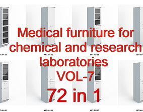 3D asset Medical furniture for chemical and research 2