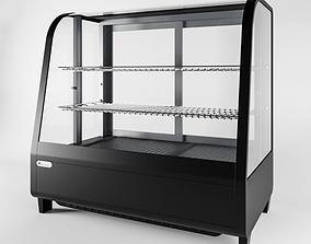 Show-window refrigerating desktop Stalgast 3D