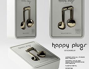 3D model Happy Plugs Earbud Plus