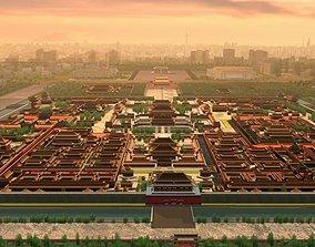 The Forbidden City 01 3D model