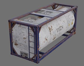3D model Tank Container 1B