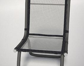 chair Mesh Patio Chair 3D model
