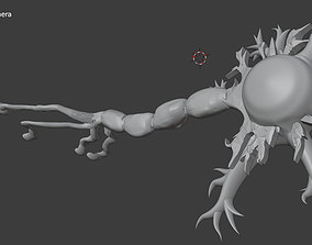 Neuron Cell - Brain Cell 3D printable model