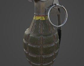 Grenade MK2 - Game Ready 3D model
