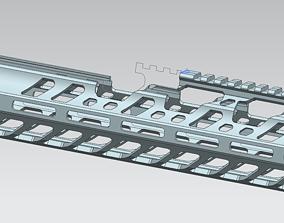 MCX M-LOK sd handguard for vfc MCX 3D print model