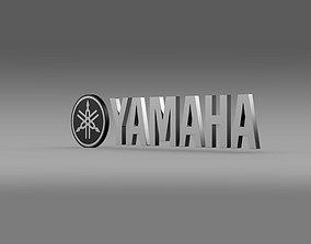 Yamaha Logo 3D model