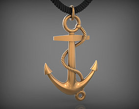 Pendant Anchor STL 3D printable model