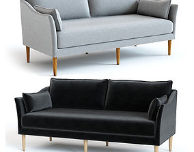 West Elm Antwerp Loveseat 3D model