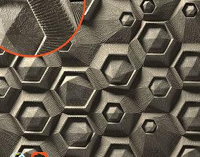 3D panel hxf-04 Hexagons