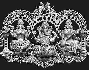 Laxmi Ganesha Saraswati 3D printable model