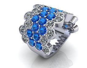 rhino3d Stone Ring 3D print model