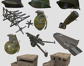 World War Asset Bundle game-ready