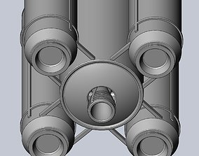 Ariane 6 Rocket - Detail Printable Scale Model vehicles