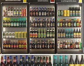 Alcoholic Set Storefront 3D