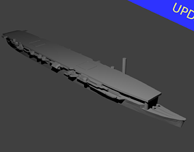 Japanese Aircraft Carrier Zuiho 3D printable model