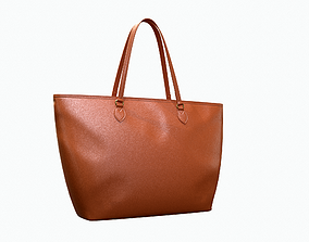 Gucci Women Ophidia GG Medium Tote Brown Leather 3D model