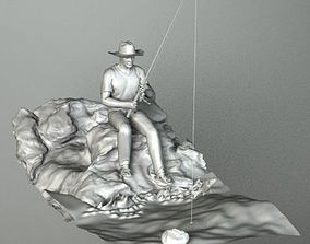 3D model FISHERMAN