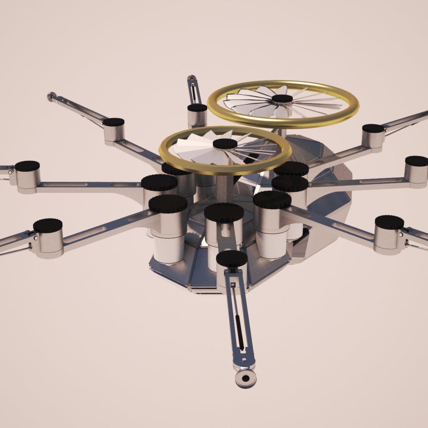 Spider Dron