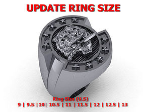 Men rings 04 - update ring size 3D printable model