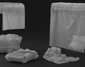 3D Bubble Wrap Objects