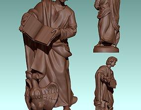 John Evangelist - CNC - Router - Carving 3D print model