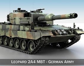 3D model Leopard 2A4 MBT - Germany