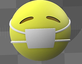 smiley gift 3D printable model Emoji