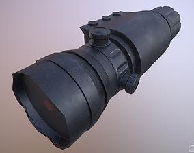 Laser Sight - Weapon Attachment - PBR - 4K 3D model