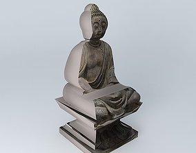 3D model Buddha Lotus Maisons du monde