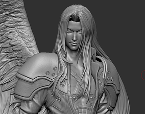 Sephiroth Final Fantasy VII REMAKE HIDEF 3D print model