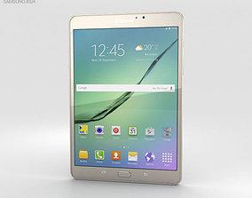 3D Samsung Galaxy Tab S2 8-0 Wi-Fi Gold