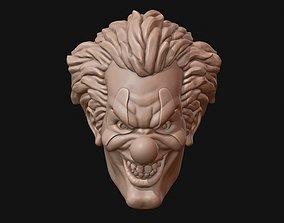 Clown head 3D print model