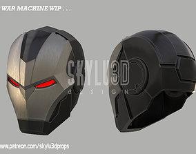 Variant War Machine Full Size Helmet 3D print ready STL