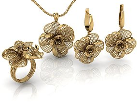Jewelry Set ultra vision 19v 3D print model