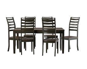 3D model Set Dining table