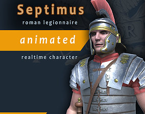 Septimus roman legionnaire 3D model