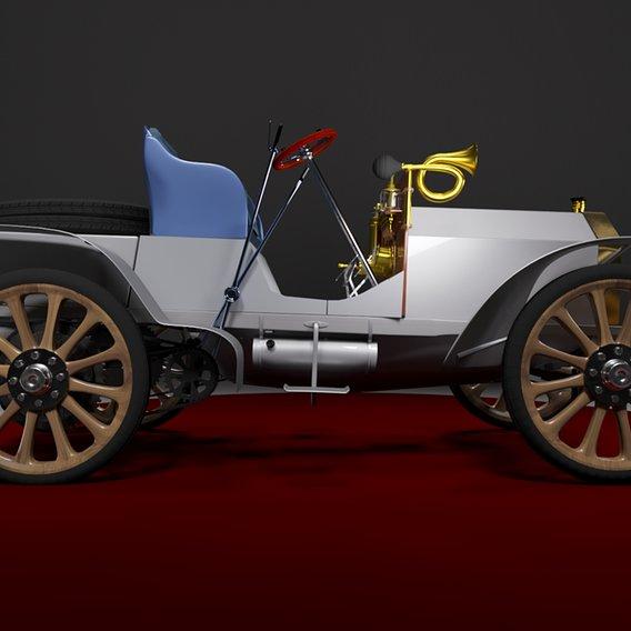 Первый Современный Автомобиль – Mercedes-Simplex (1902-1905)