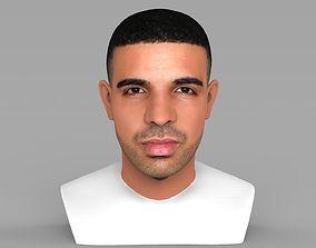 rnb Drake bust ready for full color 3D printing