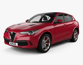 Alfa Romeo Stelvio Quadrifoglio 2018 3D